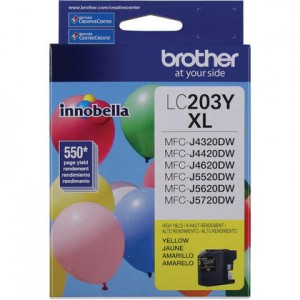 medium_942a3-Brother-LC203YS-OEM-MFC-J4320DW-Brother-LC203Y-Original-Yellow-Ink-Cartridge-High-Yield-